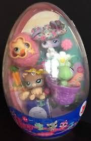 littlest pet shop easter eggs littlest pet shop easter egg set 1061 1062 1063 1064 new