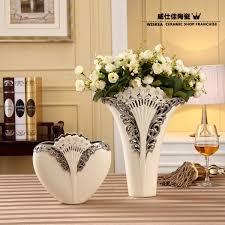 modern home decoration porcelain vase flower fashion family pack