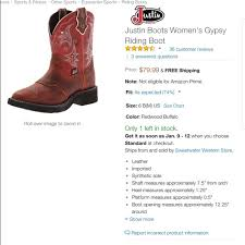 s justin boots on sale 68 justin boots shoes justin s boots from