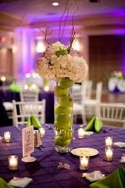 table centerpiece rentals purple and green wedding centerpieces ta wedding linen