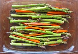 How Long To Roast Root Vegetables In Oven - balsamic roasted asparagus and carrots a bite of inspiration food