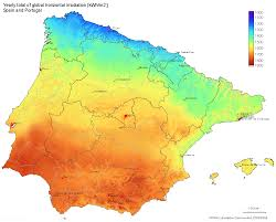 Spain Regions Map by Solar Energy Projects