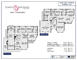 Queen Mary Floor Plan 13379 88a Avenue In Surrey Queen Mary Park Surrey House For Sale