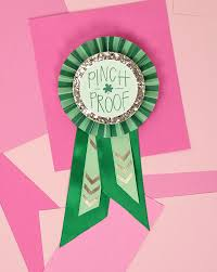 paper ribbon diy paper award ribbons for st s day free printables