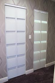 Glass Doors For Closets Modern Bifold Doors A C Doors Modern Closet Modern Bi Fold Glass