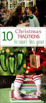 tradition ideas for families