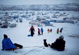 tensions rise over crime garbage between standing rock sioux and