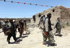 Taliban Flag Afghan Forces Struggle As Taliban Seeks Northern Stronghold