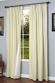 Pinch Pleated Patio Door Drapes by Valance Curtains Simple But Elegant Looks