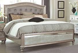 Silver Mirrored Bedroom Furniture by Melhill Mirror Accent Classic Bedroom Furniture