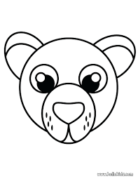 cartoon panda bear coloring pages care valentine polar pictures
