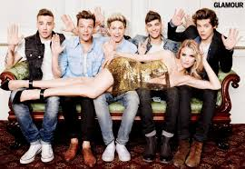 One Direction One Direction And Rosie Huntington Whiteley S August Issue