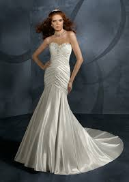 sweetheart chapel train ruffle wedding dress on sale