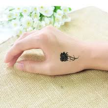 buy small flower tattoo and get free shipping on aliexpress com