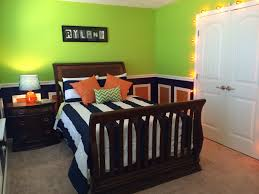 Green Wall Bedroom Decorating Ideas Charming Lime Green Upholstered Queen Bed With Cube Wall Mirror