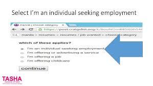 Craigslist Resumes How To Put Your Resume On Craigslist