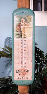 mermaid decorations for home amazon com ohio wholesale vintage mermaid thermometer from our