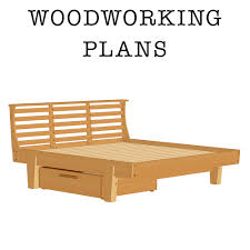 Platform Bed Plans With Drawers Free by Askwoodman Platform Bed With Drawer Verysupercool Tools