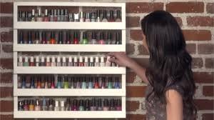 diy nail polish rack u2014 glamify with polkadottat style nails
