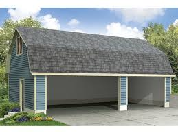 gambrel roof garages carport plans unique 3 car carport plan with gambrel roof 051g
