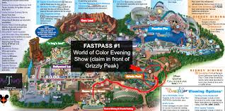 map of california adventure california adventure rides and fastpass guide the naptime reviewer