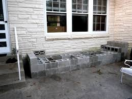 how to make a cinder block bench in less than 4 hours hometalk