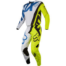 fox youth motocross gear fox racing 2017 youth 360 creo jersey pants package white yellow