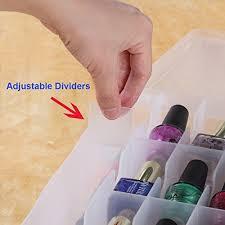 nail polish holder u2013 easy home organizer