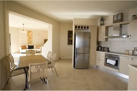 Kitchen Family Room Designs Kitchen Small Apartment With Open Plan Kitchen And