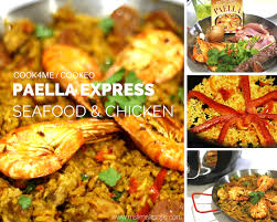 cuisine cookeo paella express cook4me mademoiselle slimalicious
