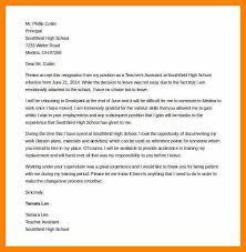 7 sample resignation letter for teachers letter envelope