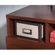Wheaton Reversible Corner Desk Bush Wheaton Reversible Corner Desk In Hansen Cherry My72813 03