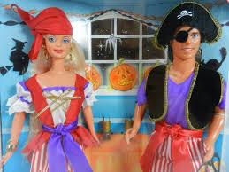 halloween barbie barbie ken halloween party pirate costume 1998 target special