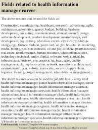 Health Information Management Resume Examples by Health Information Management Resume Template Examples