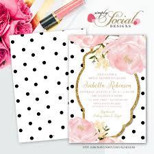 romantic garden peonie flowers blush pink and gold glitter black