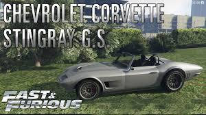 fast and furious corvette gtav ps4 chevrolet corvette stingray grand sport dom toretto