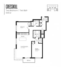 Two Bedroom Floor Plans One Bath Apartment Floor Plans U0026 Pricing The Vue In Hackensack Nj