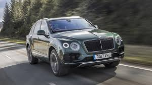 bentley bentayga truck 2017 bentley bentayga diesel first drive no w12 no problem