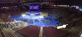 Concert Hall Floor Plan Dnc Philly Floor Plan Who Gets Prime Seats And Nosebleeds