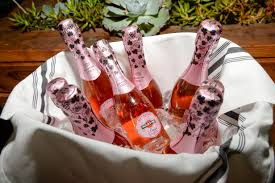 martini and rossi rose martini u0026 rossi toast to whitney port u0027s bridal shower in los