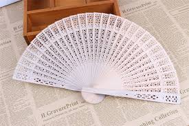 personalized wedding fans 150pcs free shipping japanese sandalwood folding fan