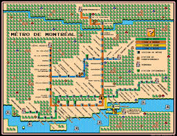 Santiago Metro Map by Get Around With These Super Mario 3 Themed Metro Maps