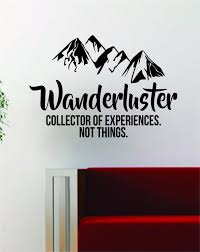 California travel stickers images Wanderluster quote decal sticker wall vinyl art decor home jpg