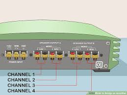 how to bridge an amplifier 7 steps with pictures wikihow