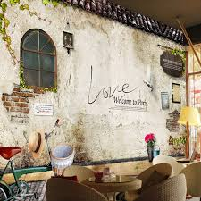 aliexpress com buy customized mural wallpaper nostalgic retro