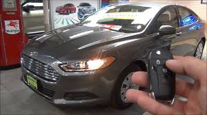 2014 Fusion Sport Ford Fusion Global Open Windows One Touch Opens All Windows