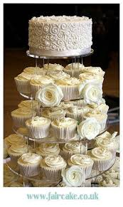 wedding cupcake tower wedding cupcakes wedding cupcake tower with roses 2036099