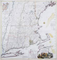 Map Of New England Colonies by The Finest 18th Century Map Of New England Rare U0026 Antique Maps