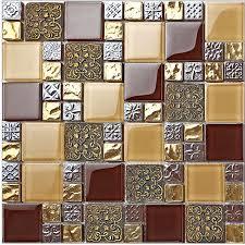 backsplash wallpaper for kitchen vintage resin puzzle parquet tiles bathroom glass mosaic
