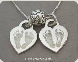 baby remembrance gifts handprint footprint jewelry personalized memorial jewelry custom